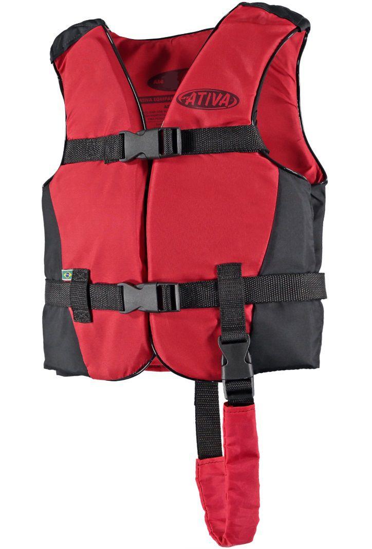 Colete Salva-Vidas Esportivo Infantil EAF Ativa Canoa - Caiaque Jet Ski Lancha e Barco