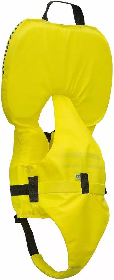 Colete Salva-Vidas Infantil Ativa Baby Homologado pela Marinha Amarelo Classe V Até 25kg