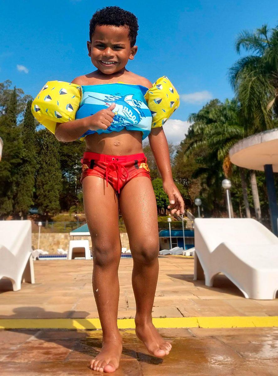 Colete Salva-Vidas Infantil Ativa Kids Flamingo Homologado Classe V Até 25 Kg