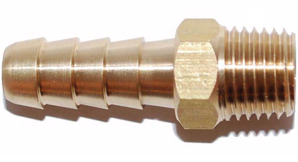 Conector Adaptador de Mangueira de Combustível Rosca 1/4