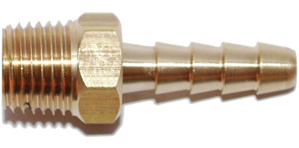 Conector Adaptador de Mangueira de Combustível Rosca 1/8