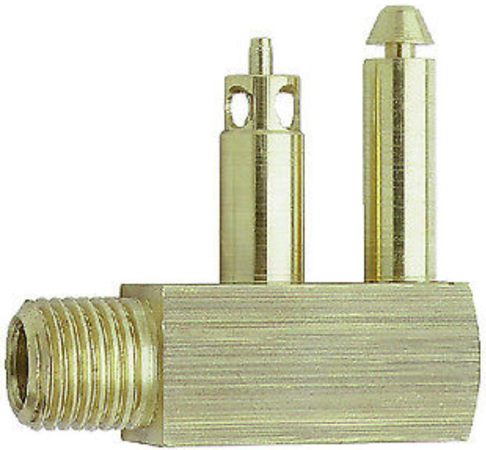 """Conector para Tanque de Combustível de Engate Rápido 1/4"""" Rosca NPT Macho Tipo Mercury Attwood 8873-6"""