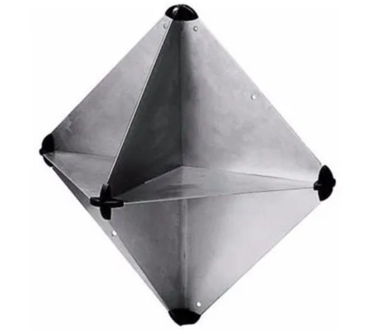 Defletor (Refletor) de Radar em Alumínio para Barcos, Lanchas e Veleiros