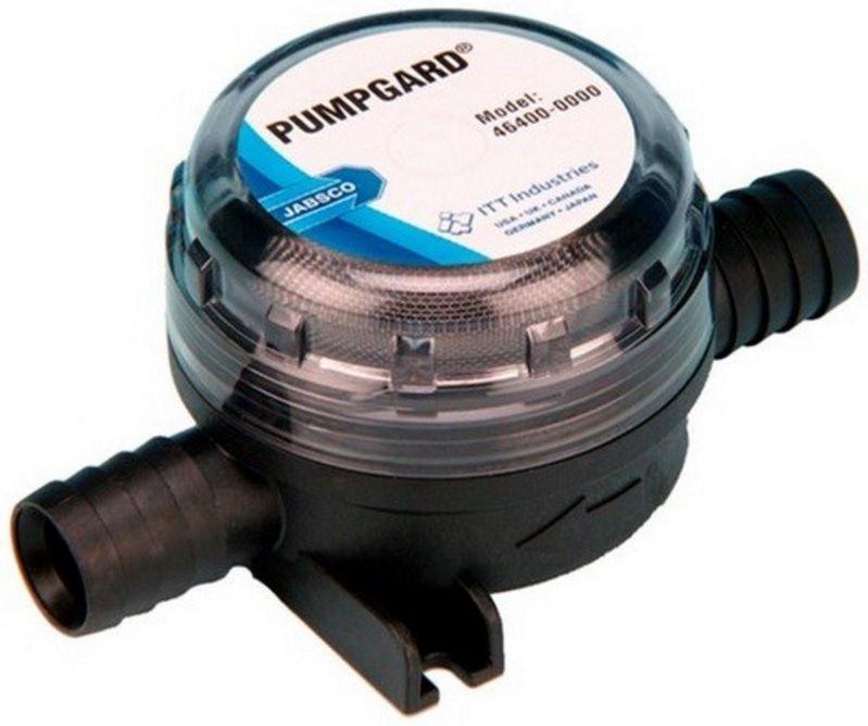 Filtro de Água Jabsco Pumpgard Modelo 46400-0000 com conexão 3/4