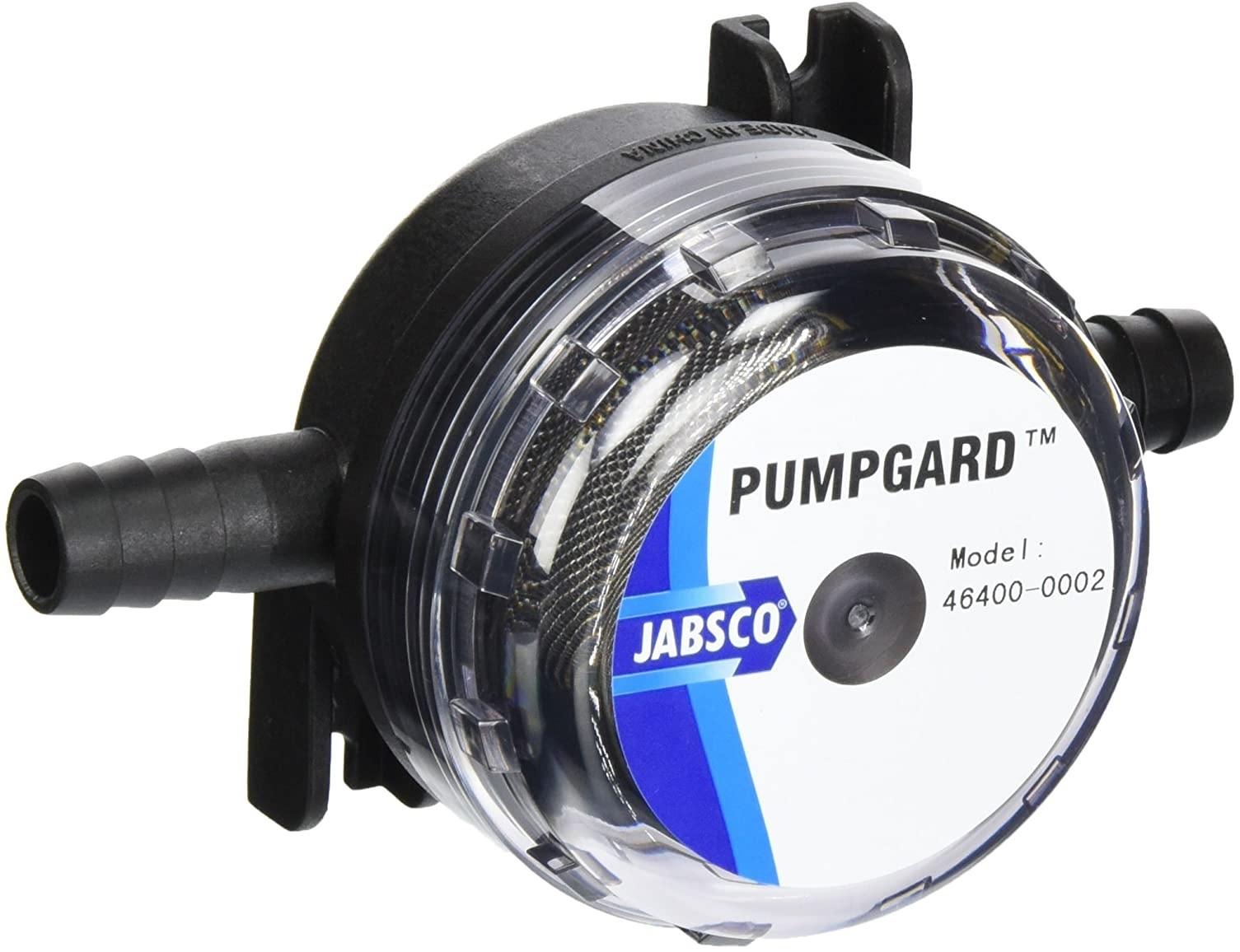 Filtro de Água Jabsco Pumpgard Modelo 46400-0002 com conexão 1/2