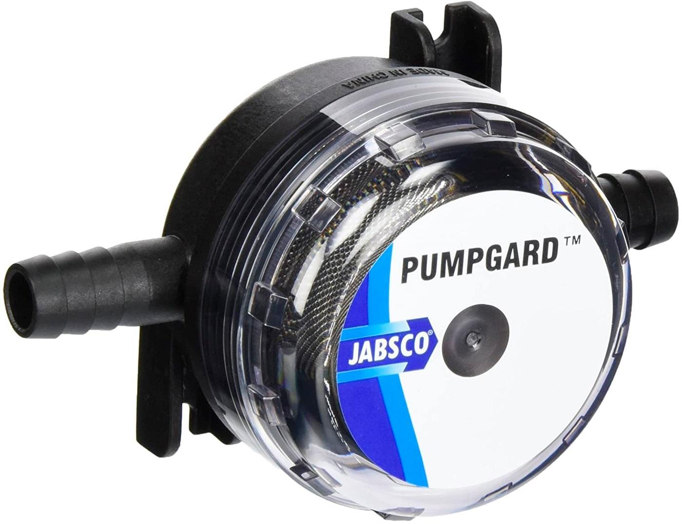 "Filtro de Água Jabsco Pumpgard Modelo 46400-0003 com conexão 3/8"" (10mm) Malha 40"