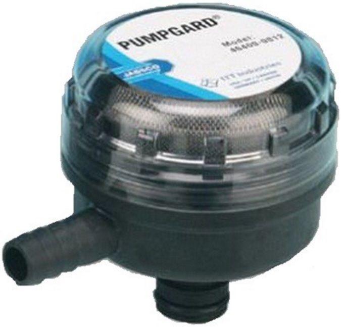 """Filtro de Água Jabsco Pumpgard Modelo 46400-0012 com conexão 1/2"""" (13mm) em 90° Malha 40"""