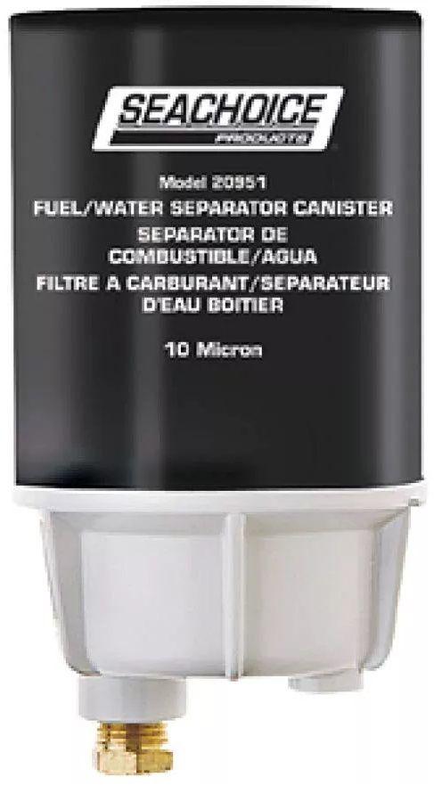Filtro de Combustível Separador de Água para Motor de Popa com Copo e Dreno Seachoice 20921
