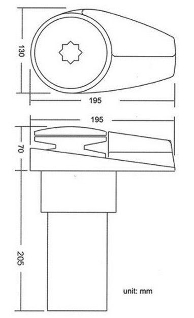 Guincho Elétrico Náutico 600 Watts para Âncora, Corrente 6mm ou Corda - South Pacific VA600