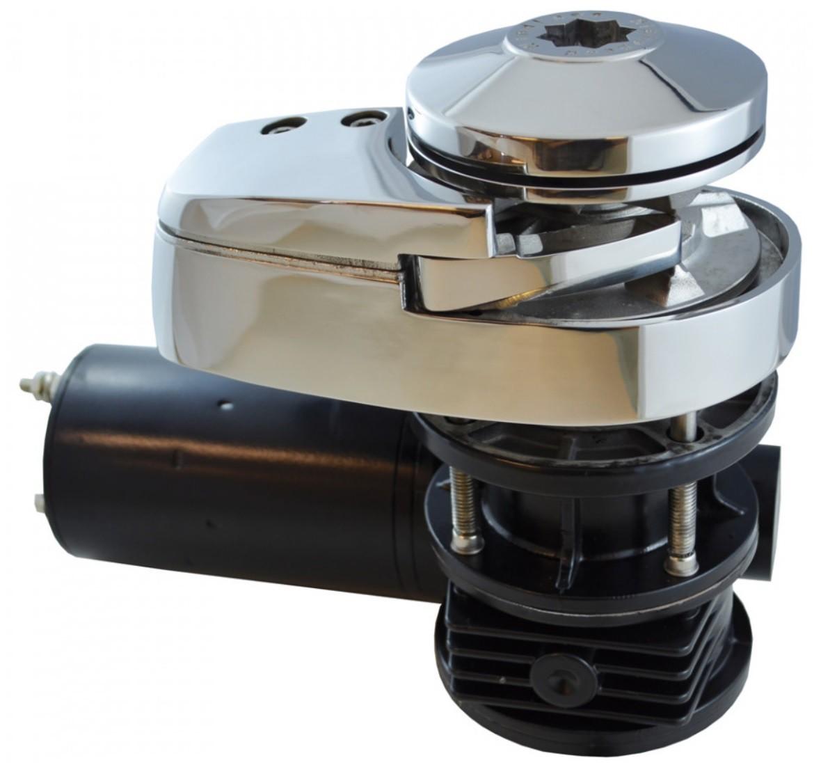 Guincho Elétrico Náutico 900 Watts em Aço Inox Completo para Âncora, Corrente 6mm ou Corda Bada C912-6
