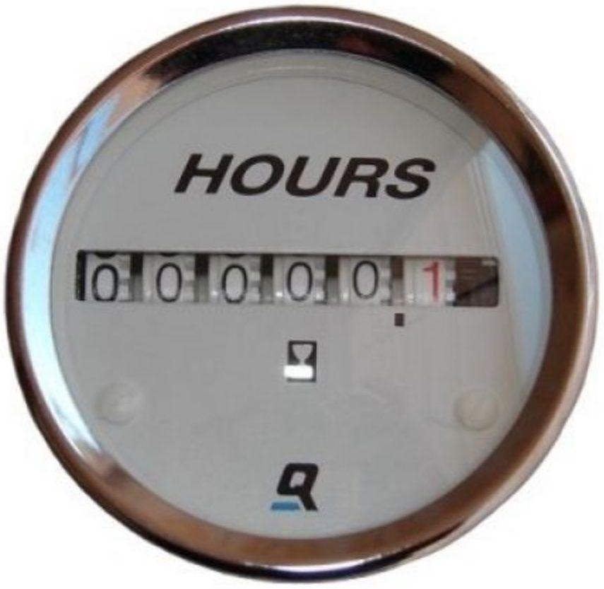 Horímetro Relógio Mostrador Medidor de Horas para Embarcações Mercury QuickSilver 883636Q2