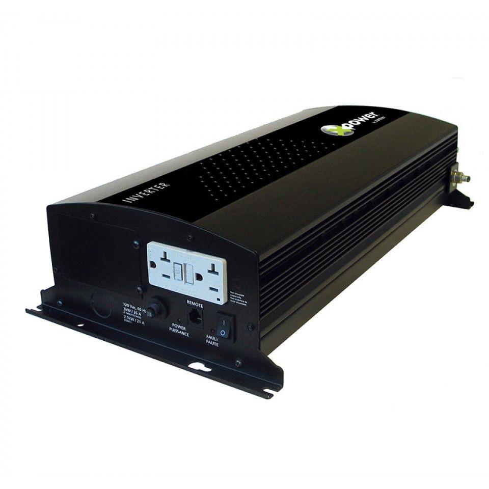 Inversor de Corrente (de Potência) Xantrex 1000W 12 VCC para 115 VCA 60 Hz Modelo Xpower 813-1000-UL
