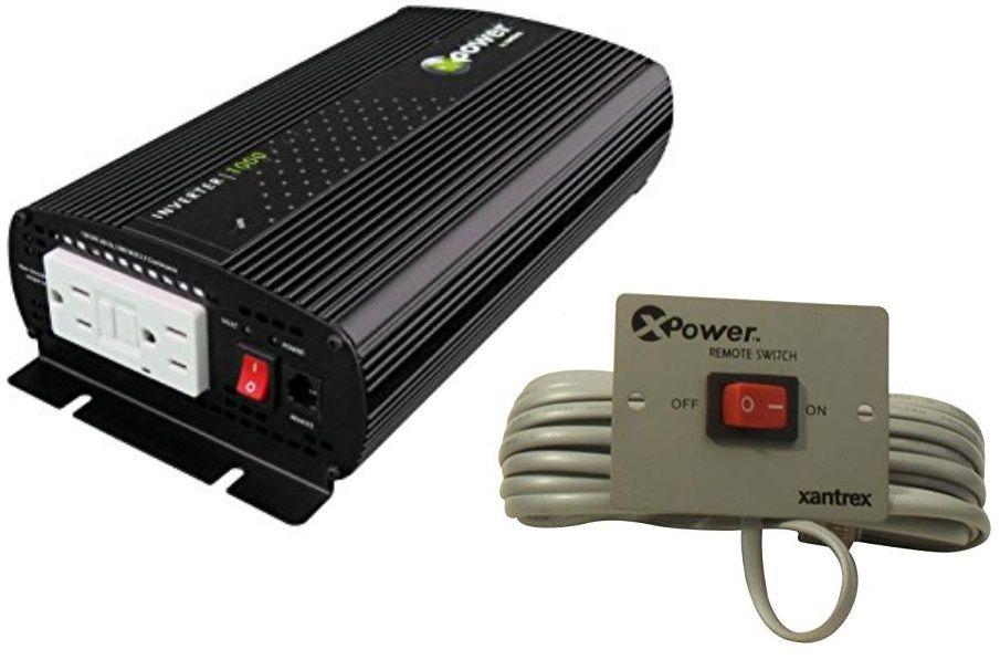 Inversor de Corrente (de Potência) Xantrex 1000W 12 VCC para 120 VCA 60 Hz Modelo Xpower 813-1000-UL