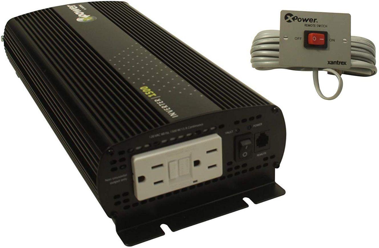Inversor de Corrente (de Potência) Xantrex 1500W 12 VCC para 115 VCA 60 Hz Modelo Xpower 813-1500-UL