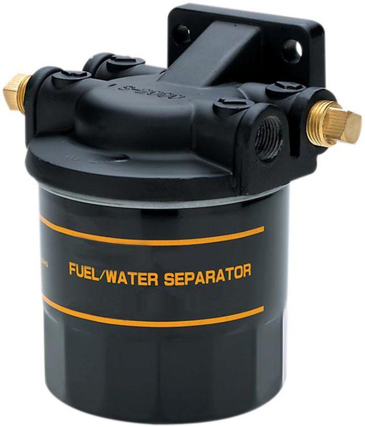 Kit Filtro de Combustível Separador de Água com Suporte Base para Barcos e Lanchas Seachoice 20901