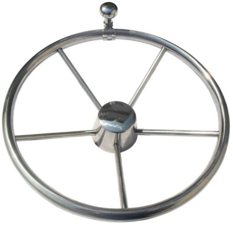 Knob em INOX para Volante de Barcos com Diâmetro de até 1 Polegada