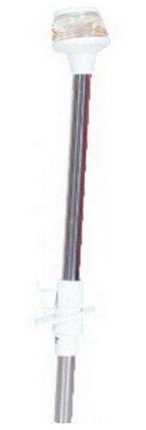 Luz de Navegação Top ou de Alcançado com Mastro Removível de Popa cor Branca