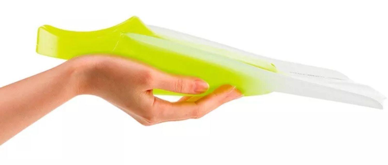 Nadadeira Pé de Pato Mormaii Wave Verde Limão Tamanho P para Bodyboard e Natação