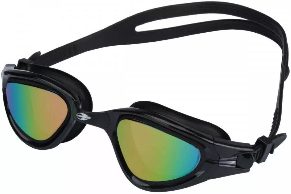 Óculos de Natação Mormaii Atlhon Preto Lente Espelhada Proteção UV