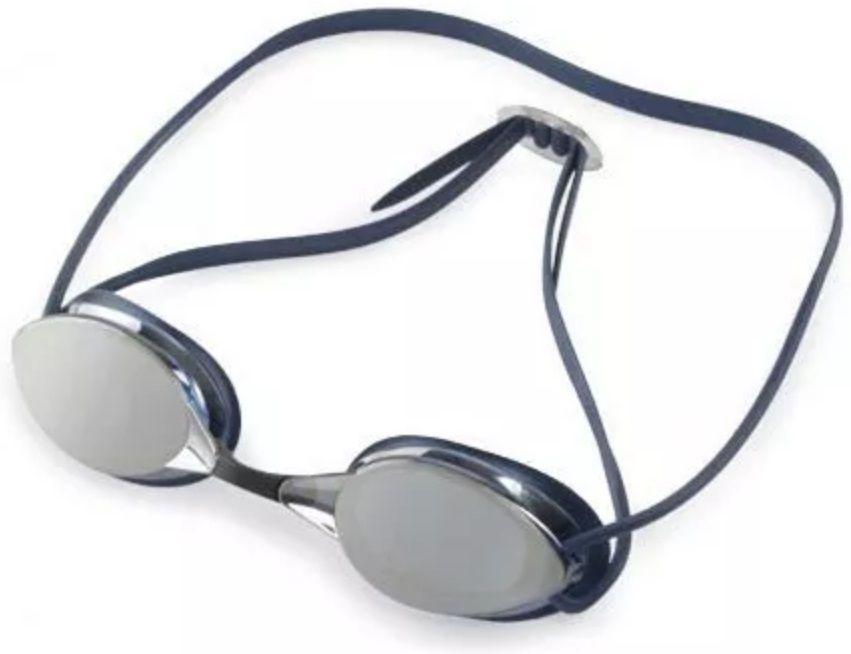 Óculos de Natação Mormaii Flexxxa Azul Lente Espelhada Proteção UV