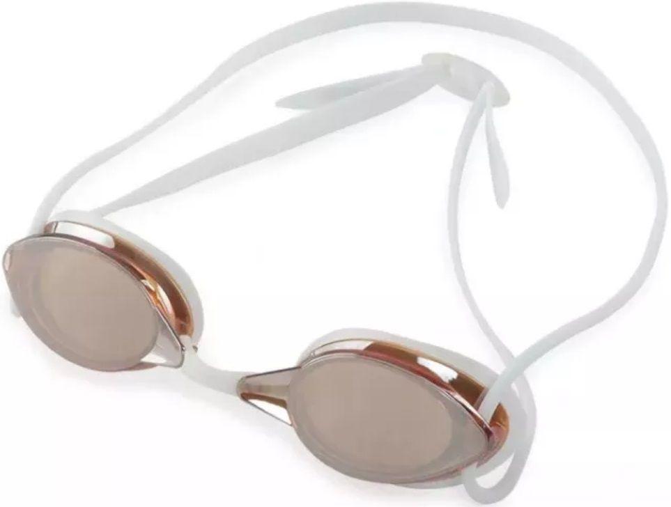 Óculos de Natação Mormaii Flexxxa Branco Lente Fumê Dourado Proteção UV