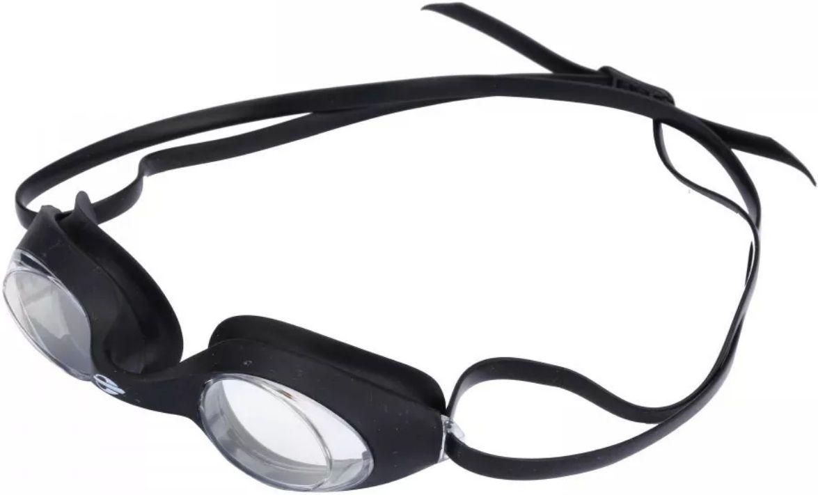 Óculos de Natação Mormaii Snap Preto Lente Transparente Proteção UV