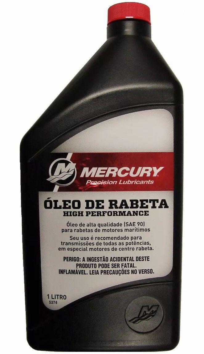 Óleo de Rabeta de Motor de Centro Mercury SAE 90 High Performance 1 Litro