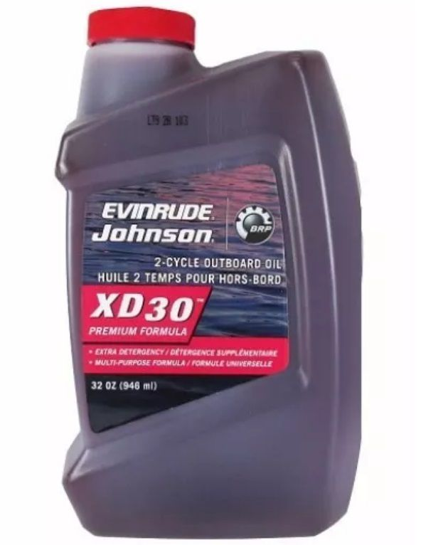 Óleo para Motor de Popa 2 Tempos Evinrude Johnson XD 30 - 946 ml