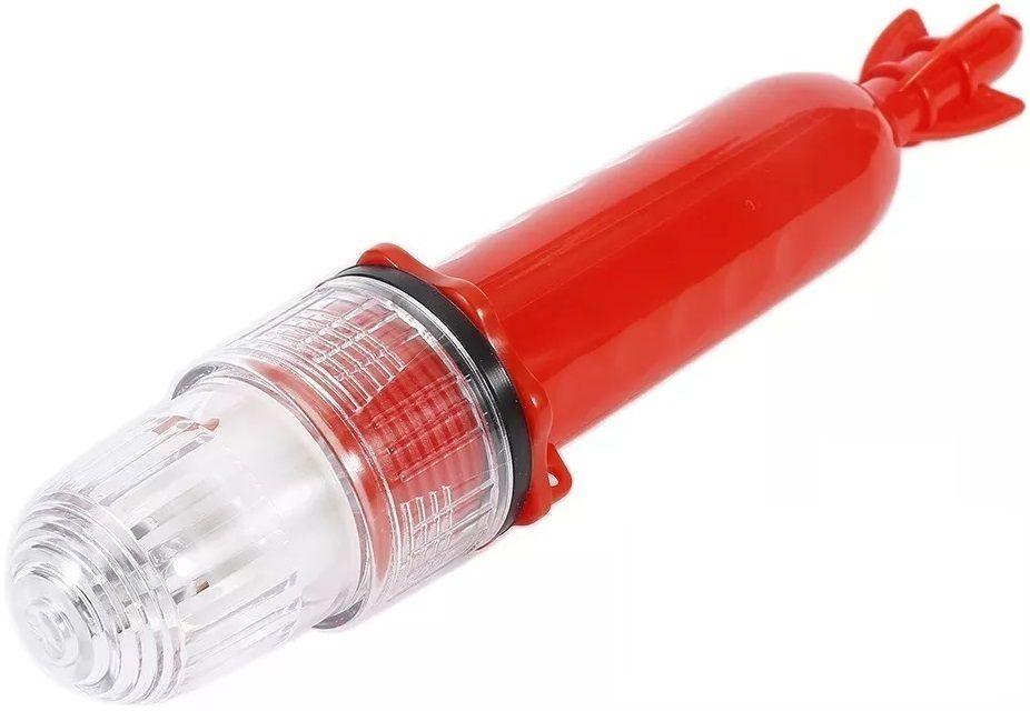 Sinalizador Náutico Pisca (Espinhel) em LED com Luz Strobo Branca para Redes e Pesca