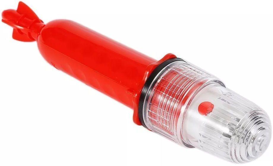 Sinalizador Náutico Pisca (Espinhel) em LED com Luz Strobo Colorida para Redes e Pesca