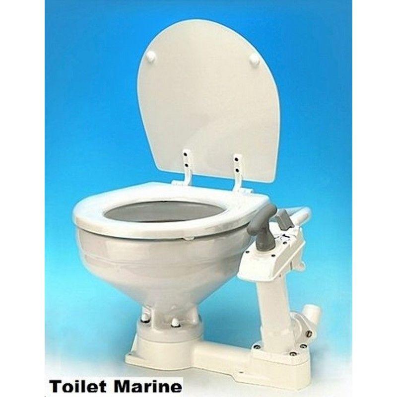 Vaso Sanitário Náutico Manual para Barcos Lanchas Motorhomes TMC