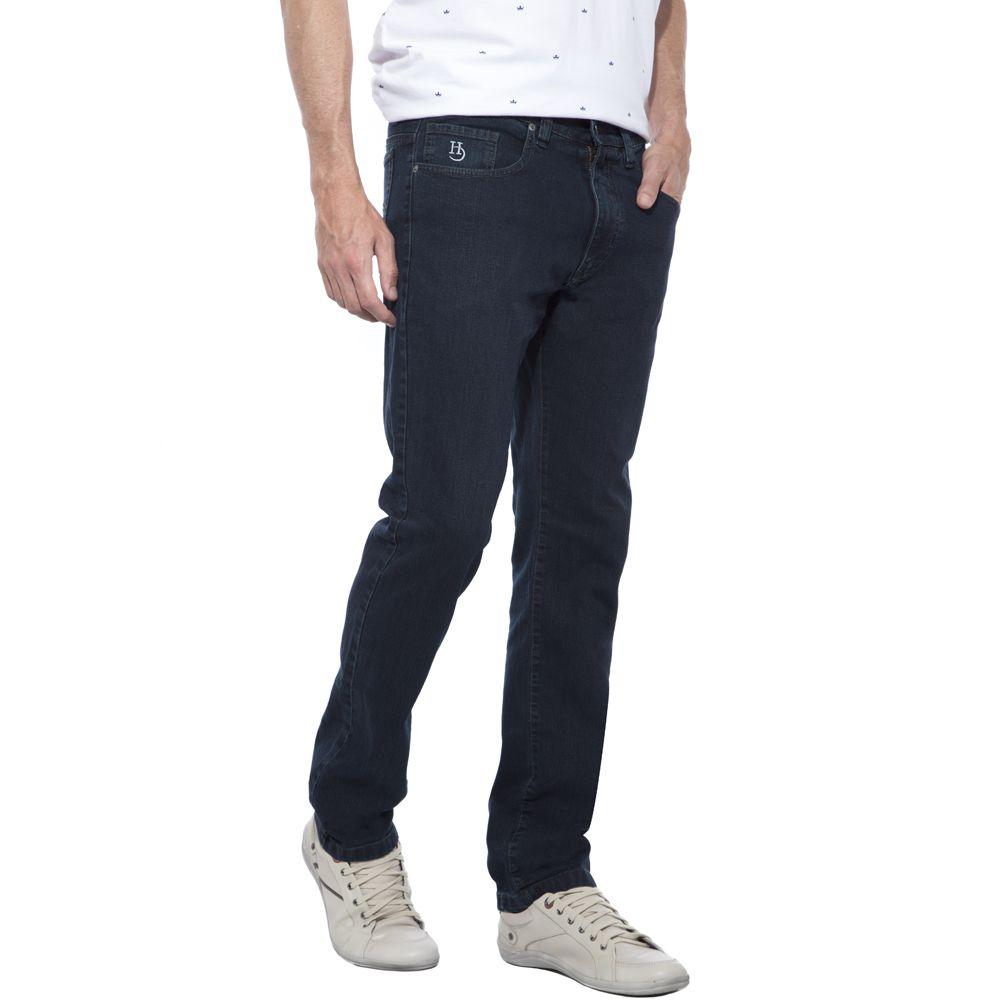 Calça Jeans Hugo Deleon Elastano Verde