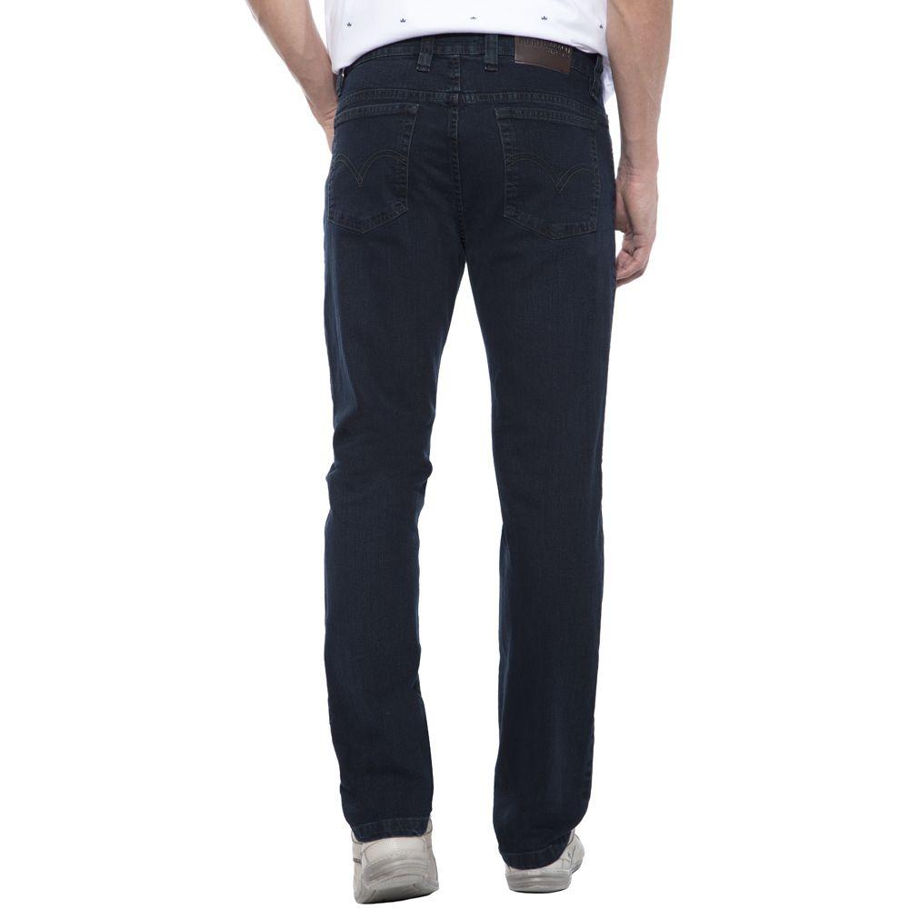 Calça jeans Hugo Deleon elastano esverdeado