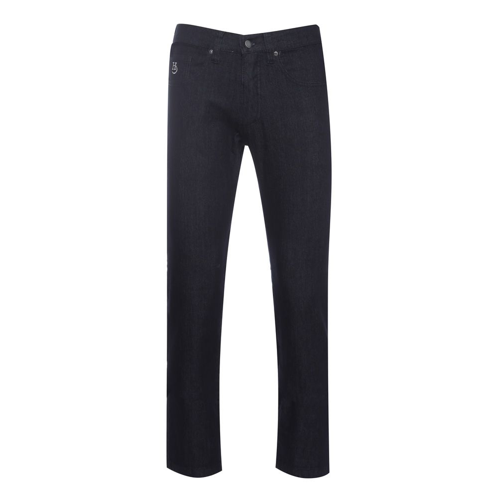 Calça jeans Hugo Deleon tradicional Black