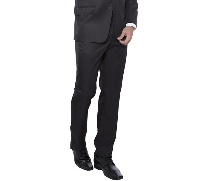 Calça social Hugo Deleon casimira preta