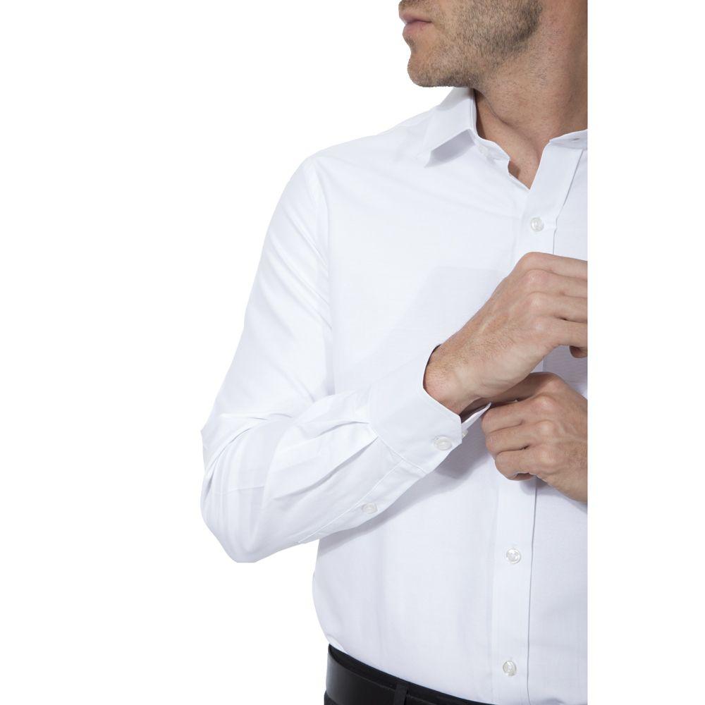 Camisa passa fácil Hugo Deleon lisa branca