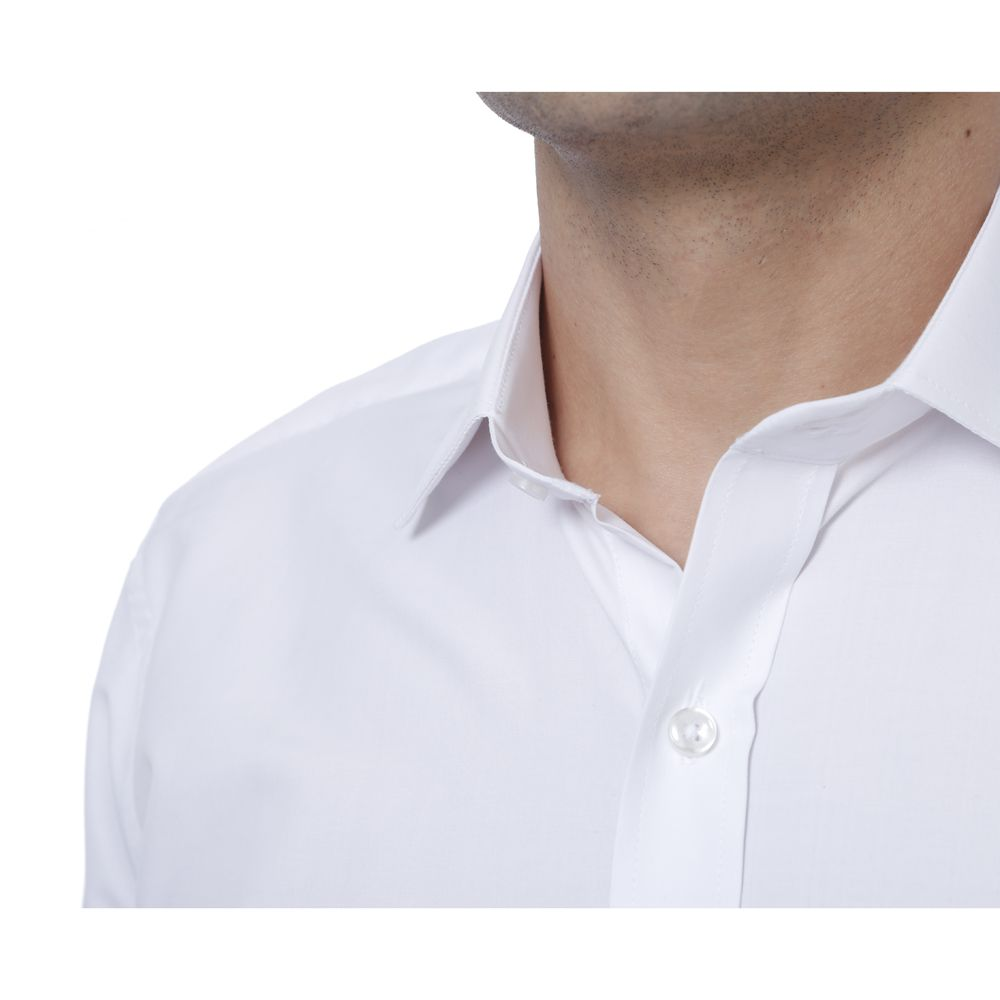 Camisa Passa Fácil Hugo Deleon Plus Branca