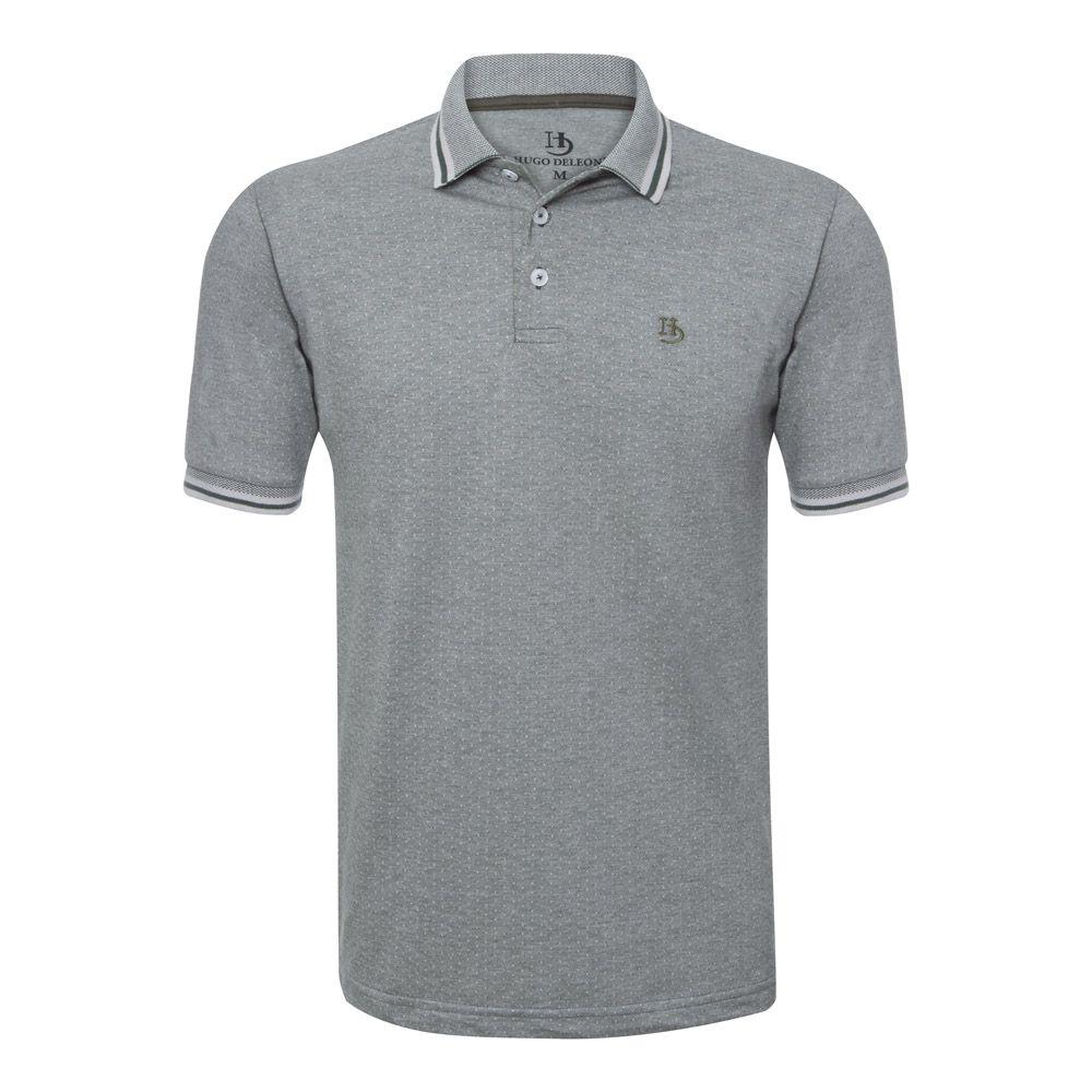 Camisa Polo Hugo Deleon Malha Premium Verde