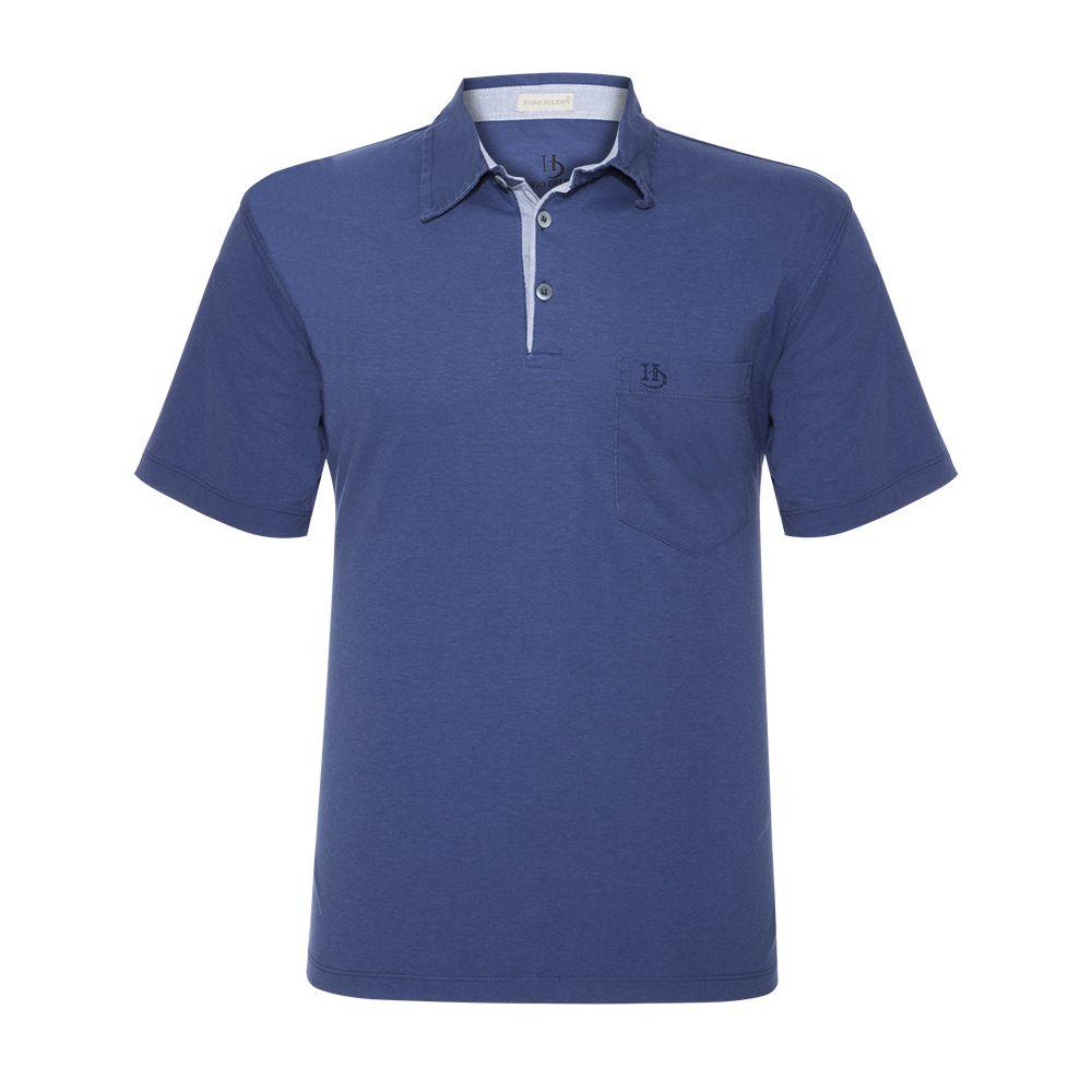 Camisa Polo Hugo Deleon Bolso Sarja