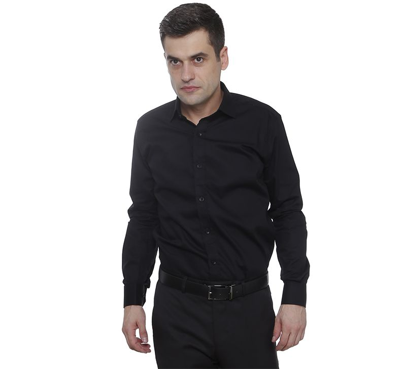 Camisa Social Hugo Deleon Bulgatti Preta