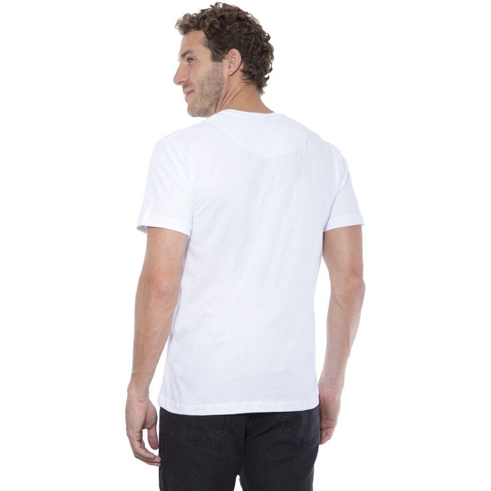 Camiseta Básica Hugo Deleon Branca