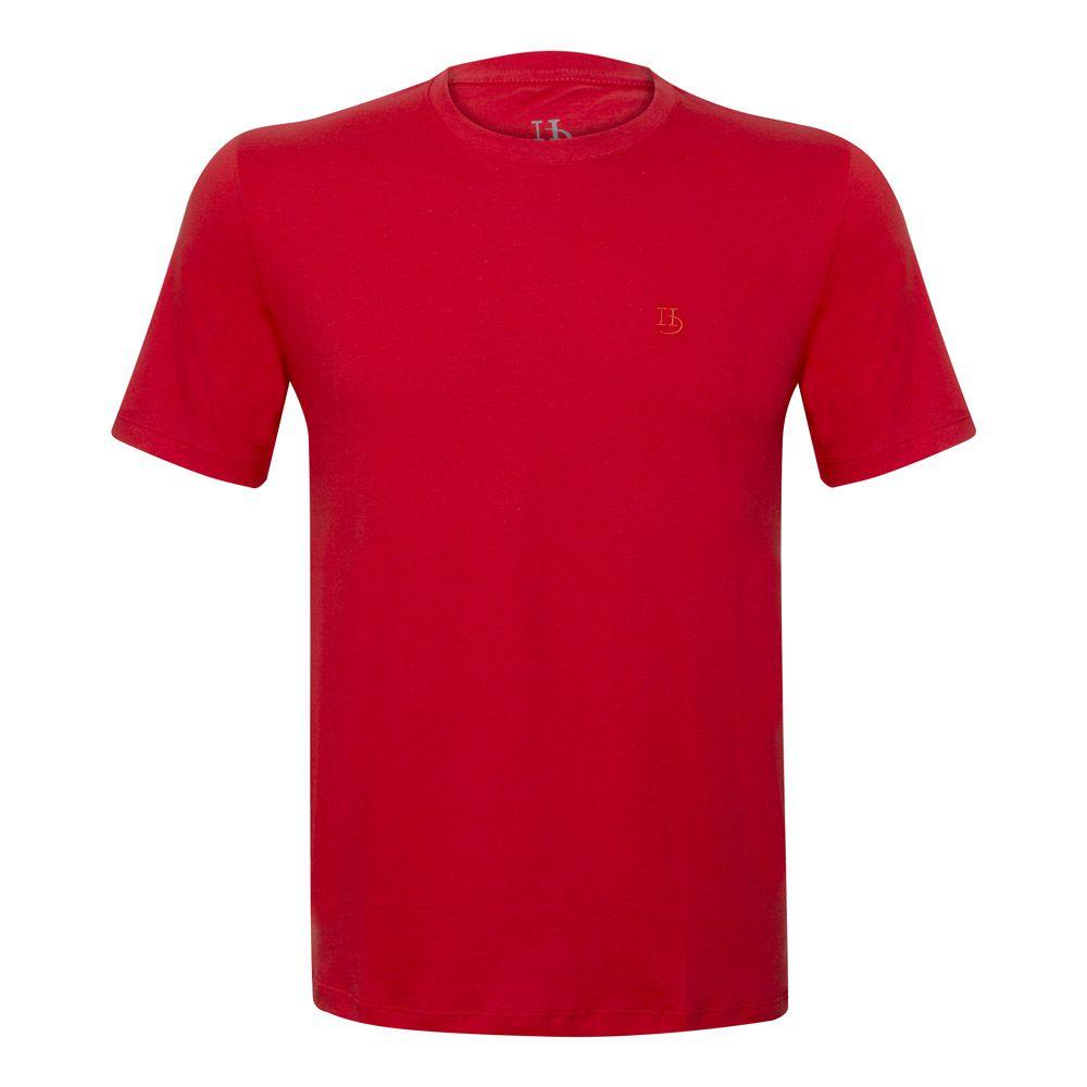 Camiseta Básica Hugo Deleon Vermelha