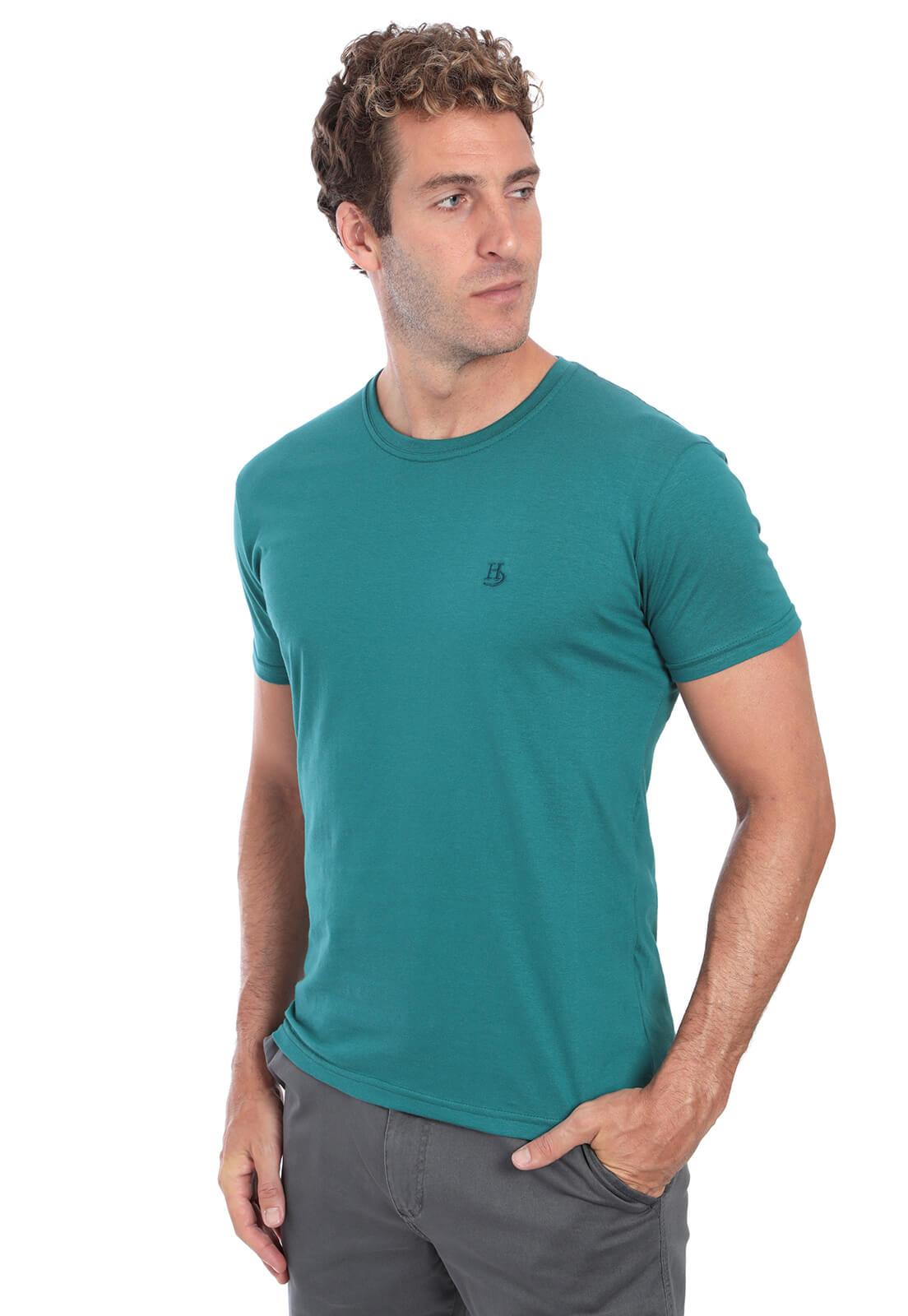 Camiseta Básica Hugo Deleon Verde