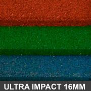 Piso De Borracha Ultra Impact 1,00 x 1,00 16mm Colors