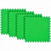 Tatame Ultra Max 20mm KIT 04 placas 0.50x0.50m Verde Escuro
