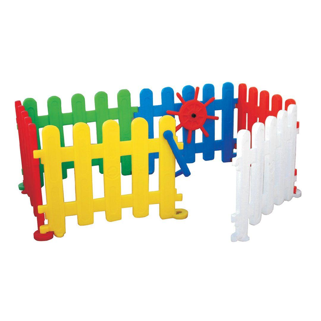 Cercadinho Tradicional com Porta - 6 peças - Freso - Ref 25158