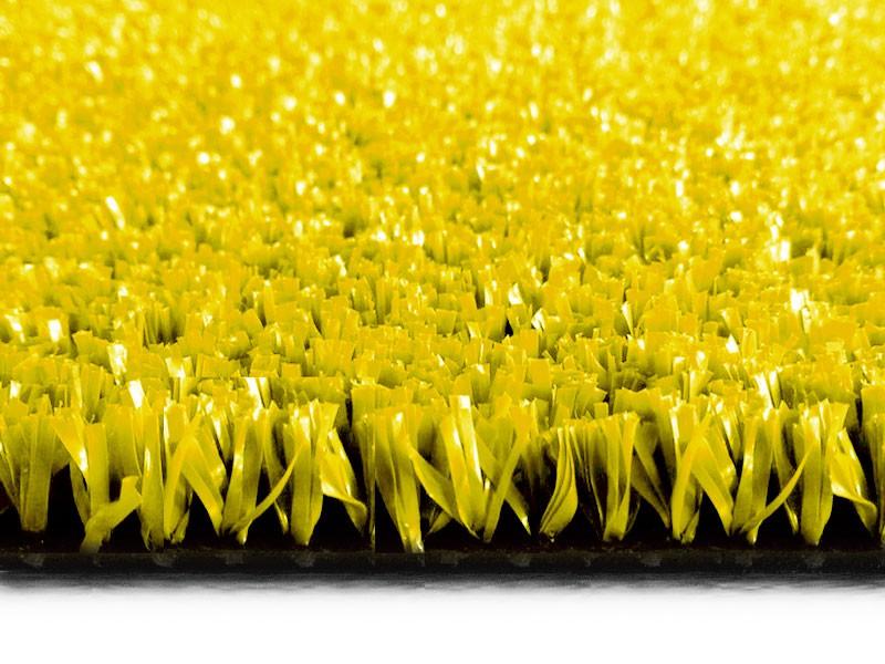 Grama Sintética Soft Grass 12mm - 2x0,50m - 1m2 - Amarela