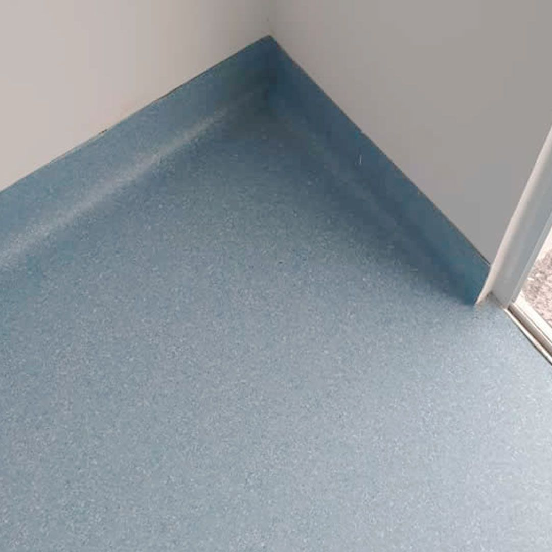 Piso Vinílico em Manta Bright 1,6mm - 2x25m - 92407 - Azul Claro - LG Hausys