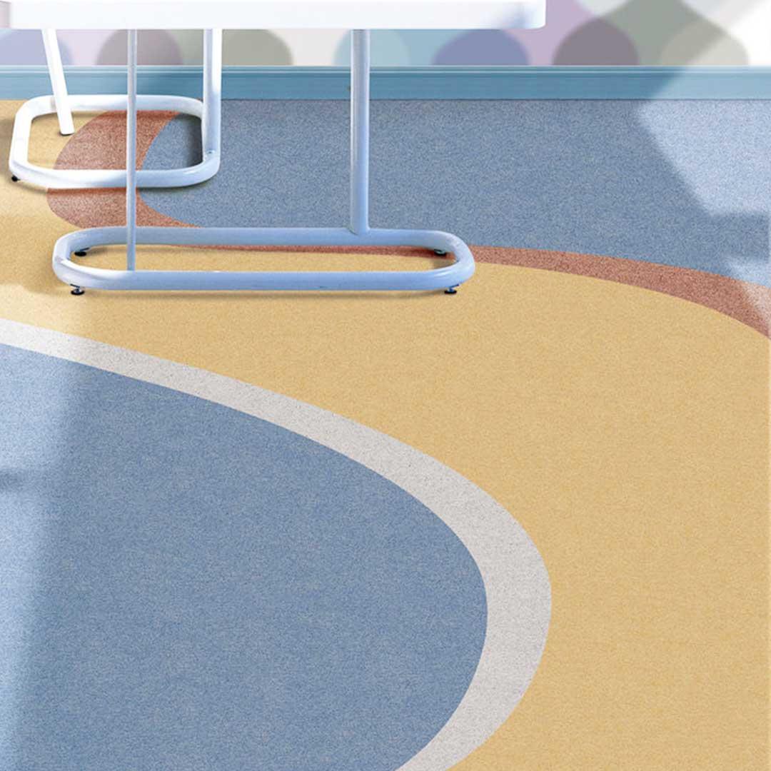 Piso Vinílico em Manta Bright 1,6mm - 2x5m - 92305 - Creme - LG Hausys