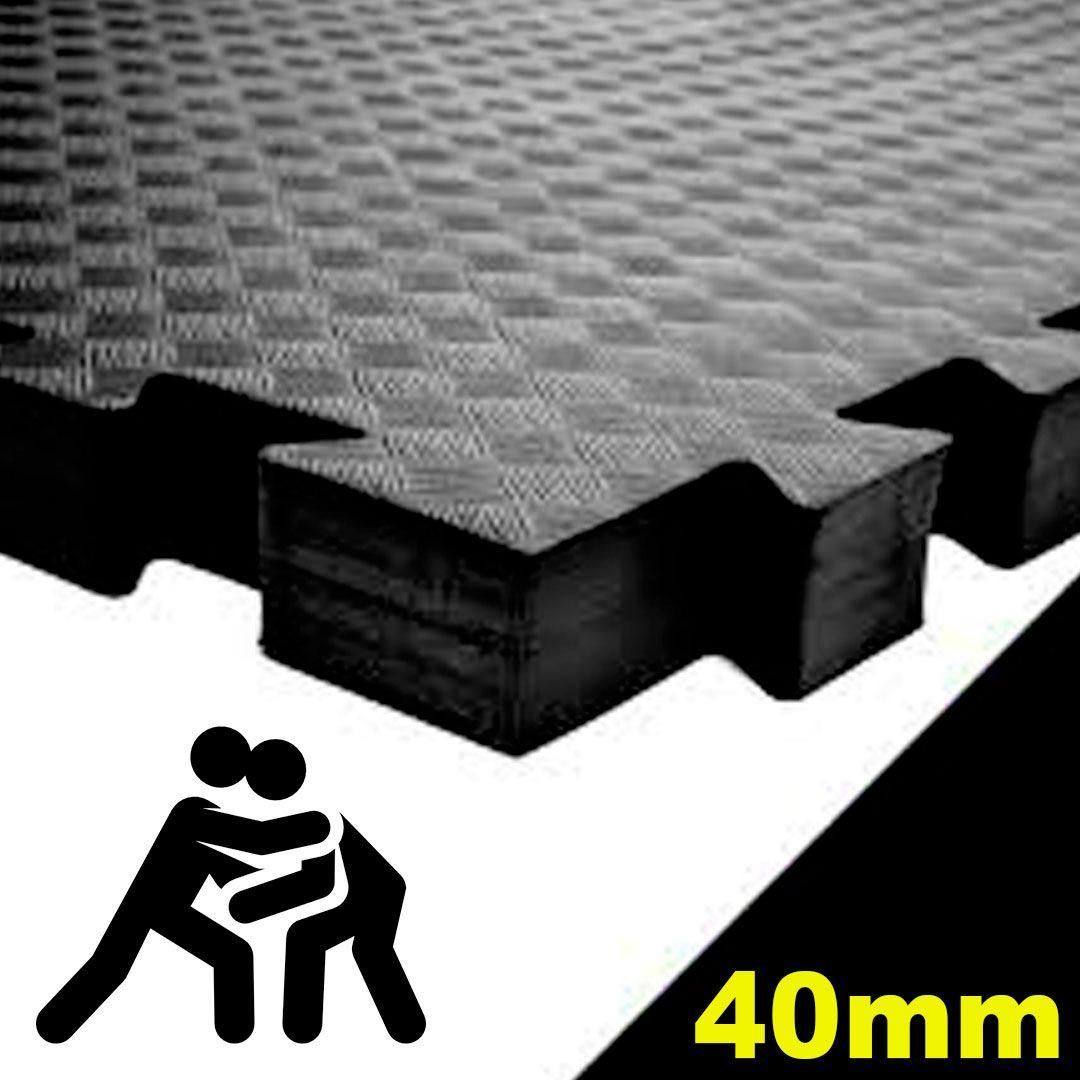 Tatame Eva Alto Impacto UltraMax 0,50 x 0,50m - 40mm - Cores Variadas